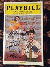 Josh Radnor And Cast Signed The Babylon Line Playbill