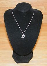 """925 Sterling Silver 20"""" Inch Necklace with Cupid Shooting Arrow Charm! *READ*"""