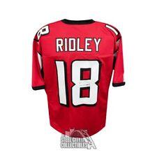 a0ba197c61a Calvin Ridley Autographed Atlanta Falcons Custom Red Football Jersey - JSA  COA