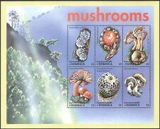 Dominica 2001 Funghi/Funghi/Piante/NATURA 6 V M/S (n42798)