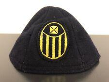 Vintage Beanie Cap Hat Maltese Cross Knights Templar Masons Lodge