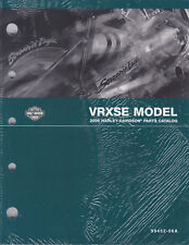 2006 Harley VRXSE Destroyer VROD V-ROD Part Parts Catalog Manual Book 99452-06