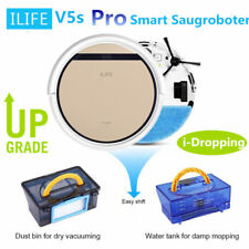 ILIFE V5S PRO Smart Saugroboter Automatisch Staubsauger Vakuum Staubsaugroboter