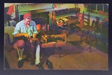 VIRGINIA VA Williamsburg 1970 Bootmaker's Shop Postcard