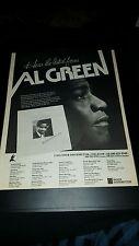 Al Green The Lord Will Make A Way Rare Original Promo Poster Ad Framed!