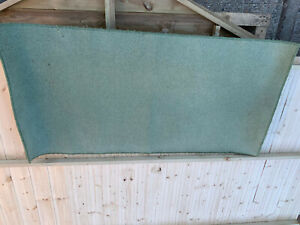 Oblong light green rug (needs cleaning) lot RSE260221LL