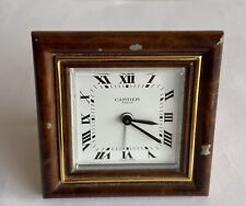 CARTIER MECHANICAL CLOCK. RARE and COLLECTABLE