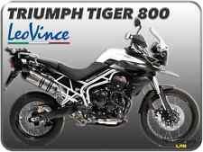 TERMINALE DI SCARICO LEOVINCE LV ONE EVO INOX TRIUMPH TIGER 800 / TIGER 800 XC