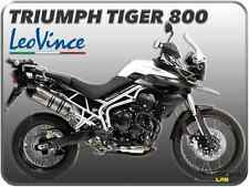 POT D'ÉCHAPPEMENT LEOVINCE LV ONE EVO INOX TRIUMPH TIGER 800 / TIGER 800 XC