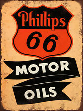 Philips 66 Motor Oils High Quality Metal Magnet 3 x 4 inches 9390