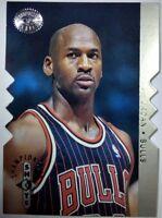 Michael Jordan 1995-1996 UPPER DECK SP CHAMPIONSHIP SHOTS #S16 DIE-CUT INSERT