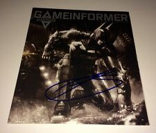 TROY BAKER Authentic HAND SIGNED Game Informer IN PERSON AUTOGRAPH Arkham Knight