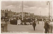 POSTCARD   CLACTON  ON  SEA     Bandstand  and  Promenade