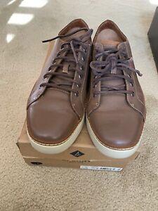 Sperry Clipper LTT Size11.5 Brown Mens Shoes Mint.