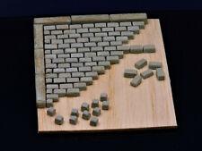 Diorama Zubehör Keramik 300 Pflastersteine groß granit 1:32 und 1:35