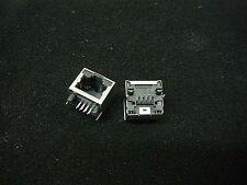 AMPHENOL Modular Jack Connector R/A 1-Port 8p8c (RJ45, Ethernet) **NEW**  2/PKG