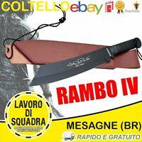 Coltello John Rambo 4 Messer Bowie Hunting Knife Machete Macete Militaria Army
