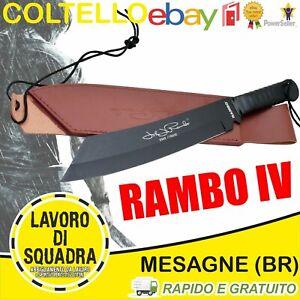 Coltello John Rambo 4 Messer Bowie Hunting Machete Militaria Army Caccia Pesca