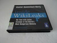 AUDIO CD BOOK - INSIDE WIKILEAKS 7CD Set Daniel Domscheit-Berg Unabridged