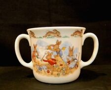 """Bunnykins"" At The Beach, Royal Doulton Double Handled Children's Cup"