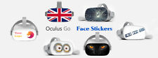 Custom Face mask skin sticker for Oculus Go VR headset. Your Image, Text or Logo