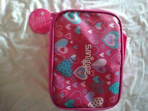 GIRLS SMIGGLE PINK LUNCH BAG BOX