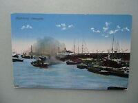 Ansichtskarte Hamburg Hafenpartie (Nr.606)