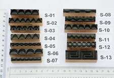 Ornament Jugendstil Wäschestempel Stempel Stoffstempel Textildruck Dekoration