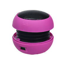 Mini Portable Hamburger Style Speaker Amplifier For Phone & PC Laptop & Tablet