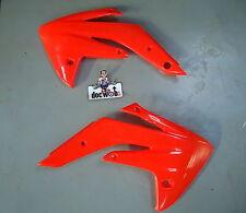Honda CRF150 2007-2013 ufo radiator scoops red 4619