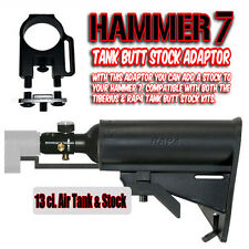 Spyder HAMMER 7 Stock Tank Adaptor and RAP4 3000psi 13ci. Air Tank & Buttstock
