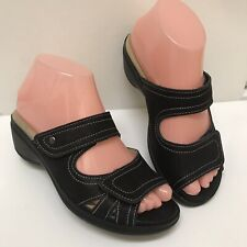 Spring Step Women's Mattea Wedge Sandals Shoes Size 36 US 5.5/6 Brown Excel.Cond
