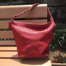Vintage Coach® Duffle Sac - Red