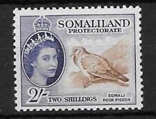 SOMALILAND SG146 1853 2/- BROWN & BLUISH VIOLET MNH