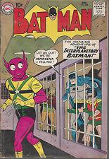 Batman  #128  VG   Early Silver Age   December 1959