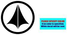 """Macross Robotech UN Vinyl decal sticker Graphic Die Cut Car Truck Window 6"""""""