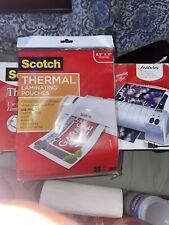 Scotch Tl901c Thermal Laminator 2 Roller System