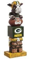 Green Bay Packers Tiki Tiki Totem Statue Figurine NFL Football Wisconsin