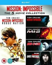 Mission Impossible 1-5 5053083056452 With Tom Cruise Blu-ray Region B