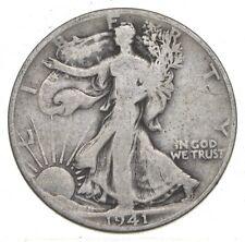 1941-D Walking Liberty 90% Silver US Half Dollar *264