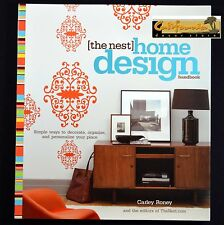 The Nest HOME DESIGN HANDBOOK Interior Decor NEW UNUSED Help HGTV Wedding Gift
