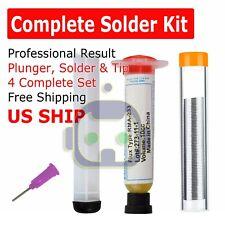 Solder Wire Soldering Paste Flux Grease Rma 223 10cc Syringe Tube Pcb Bga Smd