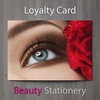 Loyalty Card Beauty Salon Eyelash Extension Lash Lift Spa Therapist A8 Mini