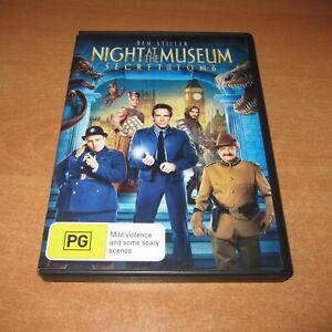 NIGHT AT THE MUSEUM - SECRET OF THE TOMB ( DVD , REGION 4 ) BEN STILLER