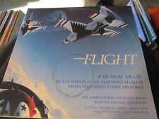 AIR FORCE BAND, Flight (A Musical Salute, 2 LP SET, 33 RPM VINYL, 44030,  1157