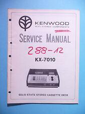 Service Manual-Anleitung für Kenwood KX-7010 ,ORIGINAL