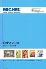 Un Catalogo Michel Cina China 2020 Übersee Oltremare Band 9.1