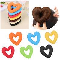 Cheveux Donut Chignon Coeur Maker Magic Mousse Éponge Styling Princesse Coiffure