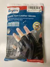 Roylin Sports Gym Leather Gloves Large Unisex