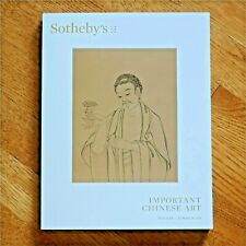 SOTHEBYS NEW YORK AUCTION CATALOG 20 MARCH 2019 IMPORTANT CHINESE ART
